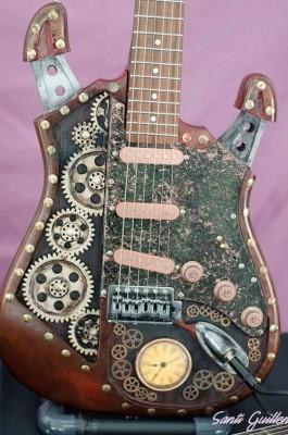Guitarra eléctrica Martper Guitars Stratopunk