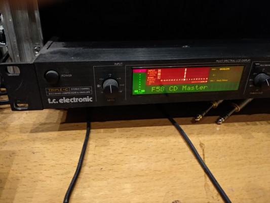 COMPRESOR TC ELECTRONIC TRILE C