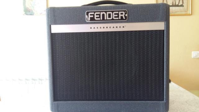 Amplificador fender Bassbreaker 007 Combo