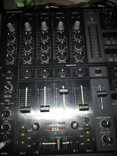 mesa de mezclas controladora
