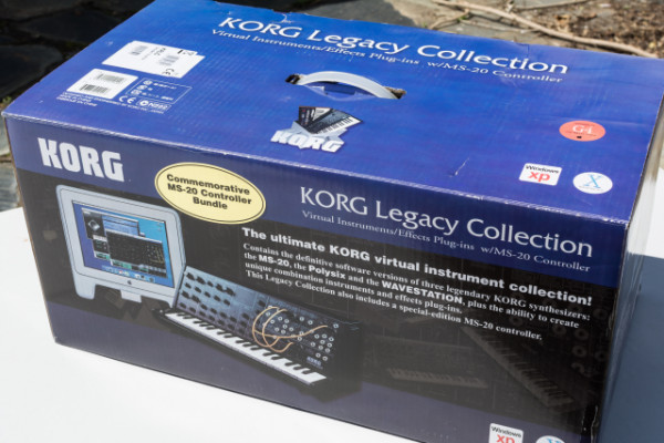KORG MS20IC - Controlador USB-MIDI + Legacy Collection