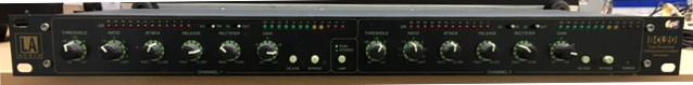 Compresor/Limitador dual stereo LA Audio BCL20