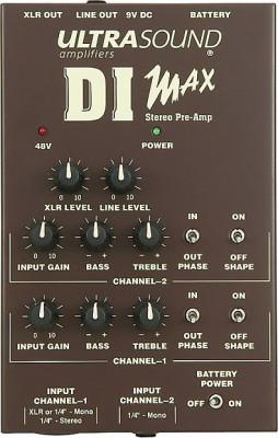 Previo UltraSound DI Max Preamp Direct Box
