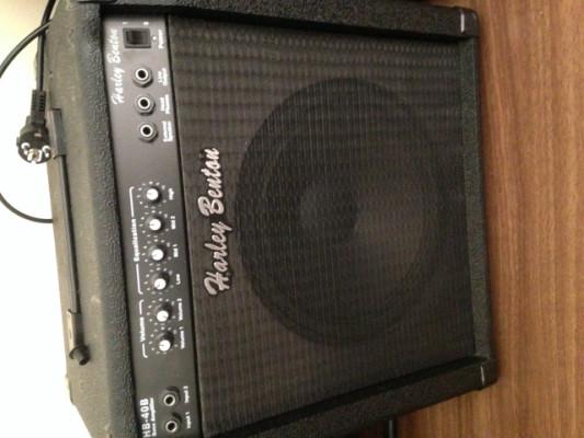 Amplificador bajo Harley Benton HB 40B