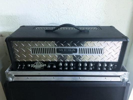 Mesa Boogie Dual Rectifier + Flight Case a medida