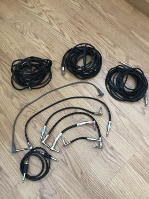 Cables jack guitarra varios