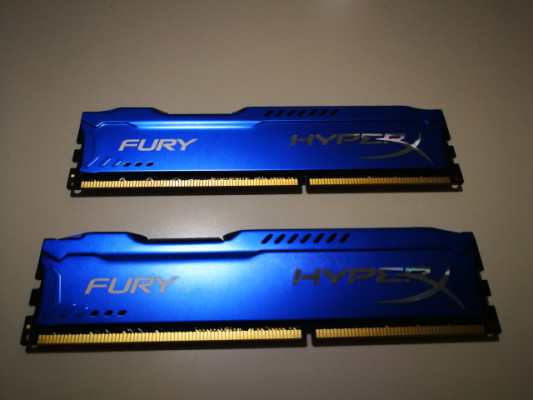 4 Memorias Ram Kingston