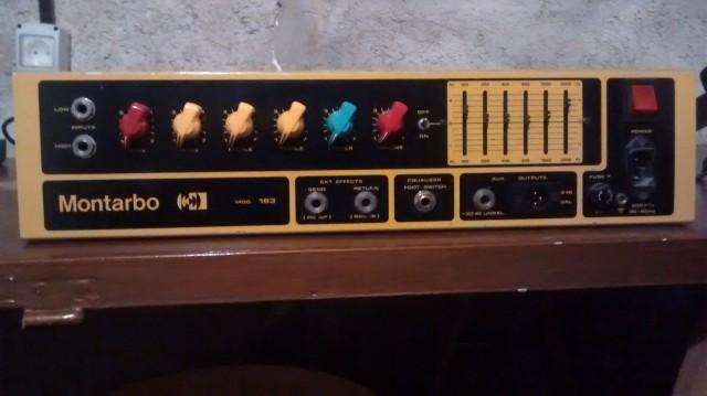 Vendo amplificador para bajo Montarbo Mod-183