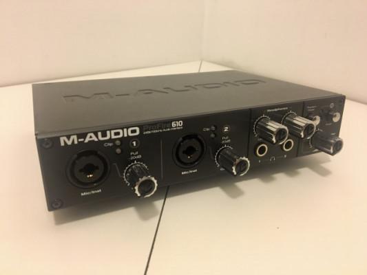 Tarjeta de sonido M-Audio ProFire 610