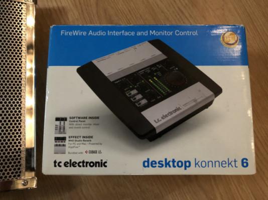 TC Electronics Desktop Konnect 6 ((Cambios)!