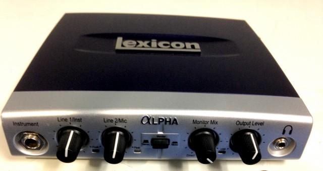 Lexicon ALPHA - Interfaz de audio USB