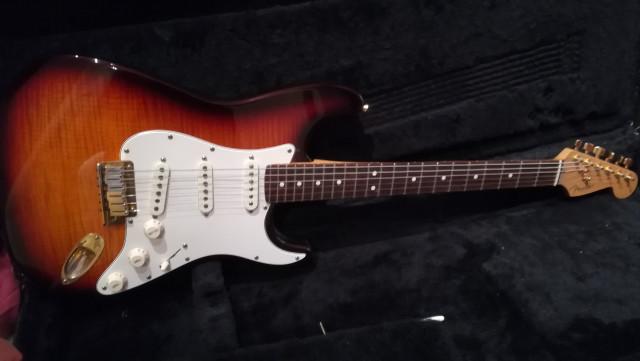 Fender stratocaster 50th Anniversary 1996