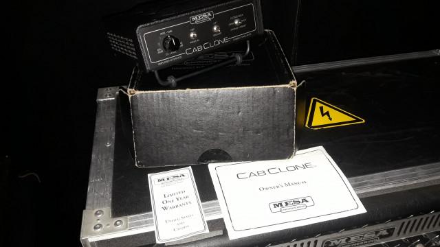 Cab clone mesa boogie 16 ohm