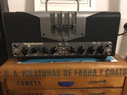 Mesa Boogie Transatlantic TA-15 Head