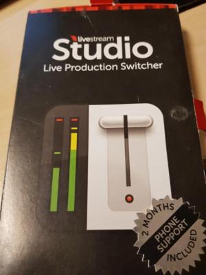 LiveStream Studio (licencia de por vida)
