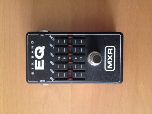 MXR EQ 6 band M109 Ecualizador