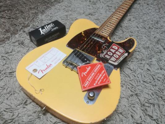 Fender Telecaster ROAD WORN 50S Blonde Aged -MUY MEJORADA- RESERVADA