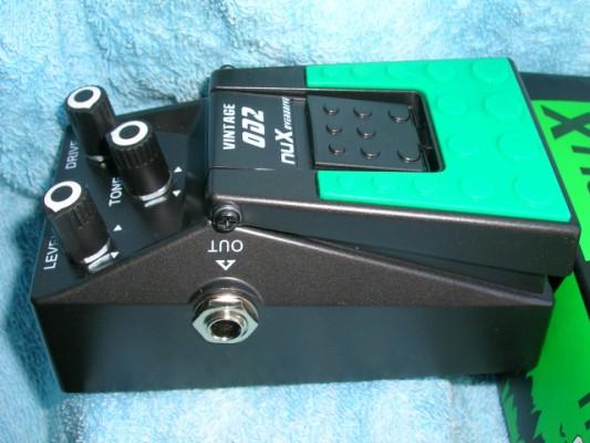 Clon Tube Screamer NUX OD-2 Descatalogado