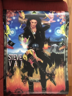 Steve Vai Poster, Passion and Warfare