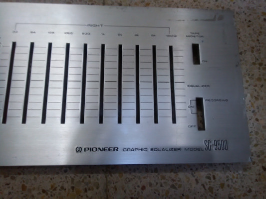 PIONEER SG 9500 ECUALIZADOR