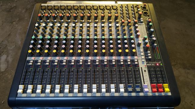 Soundcraft MFXI 12 (NO ES EL MODELO EFX)