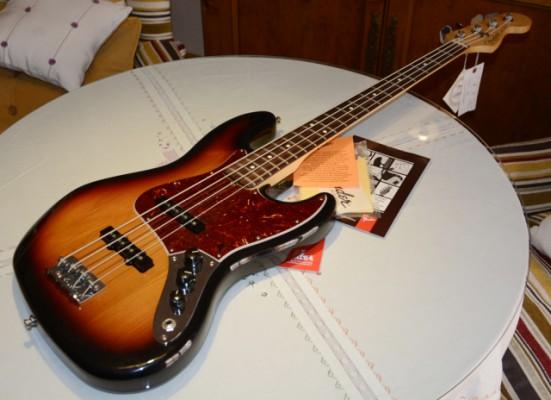 Retirado de la venta bajo Fender Jazz Bass, impecable.