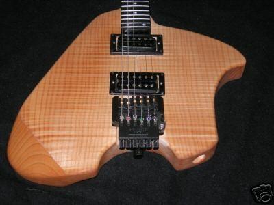 Busco guitarra tipo 'Klein'