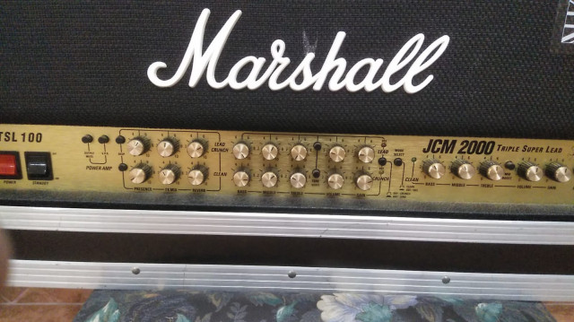 Cabezal Marshall jcm 2000 tsl 100