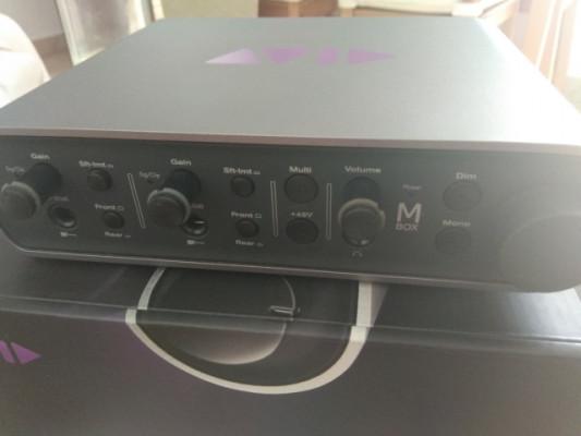 Tarjeta de sonido Mbox 3