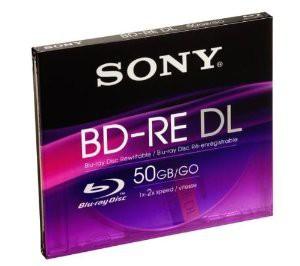 Sony Blu-Ray disc rewritable BD-RE DL 50GB sin desprecintar