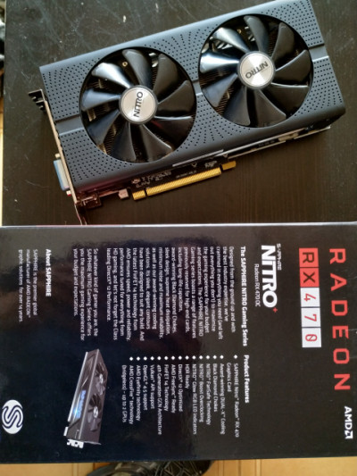 Tarjeta gráfica Radeon RX470 4Gb Sapphire Nitro+