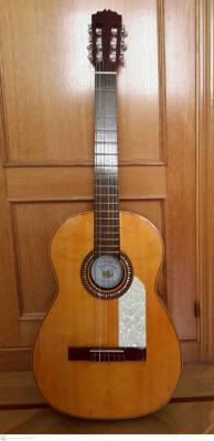 Guitarra clásica Vicente Sanchis, años 70! de gama alta
