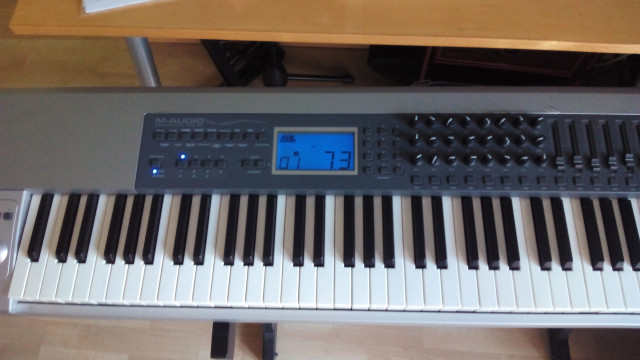 Teclado Master M-Audio Keystation Pro-88