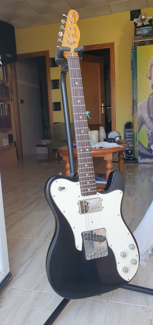 Fender Telecaster Custom de 1978 (no reedición)