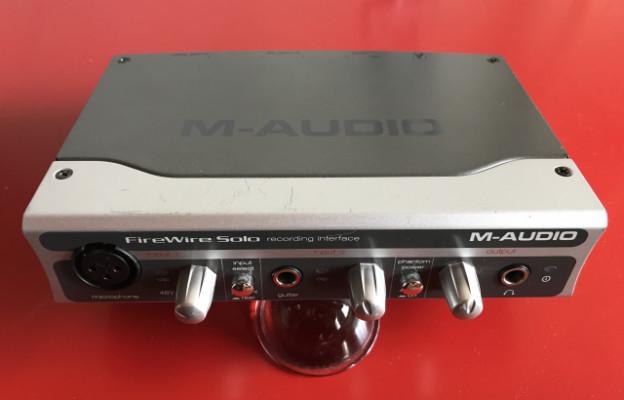 M Audio Firewire Solo (tarjeta de sonido)