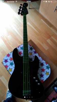 Fender Aerodyne Jazz Bass ACTIVO!!!!!
