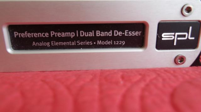 Previo y deesser SPL analog essentials