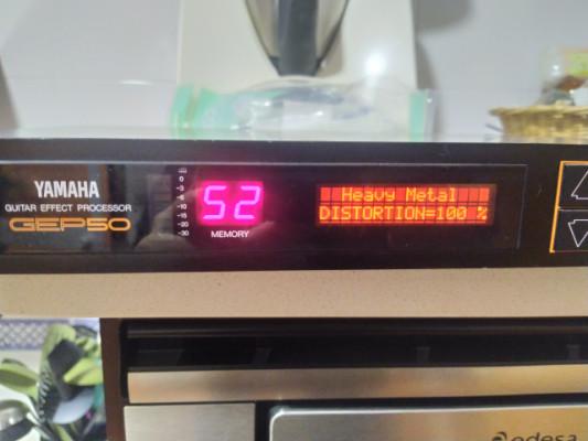 Multiefecto Yamaha GEP 50