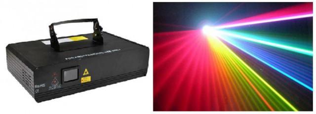 LASER 1200 RGB ILDA