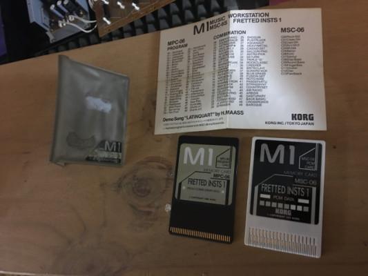Korg m1 cards