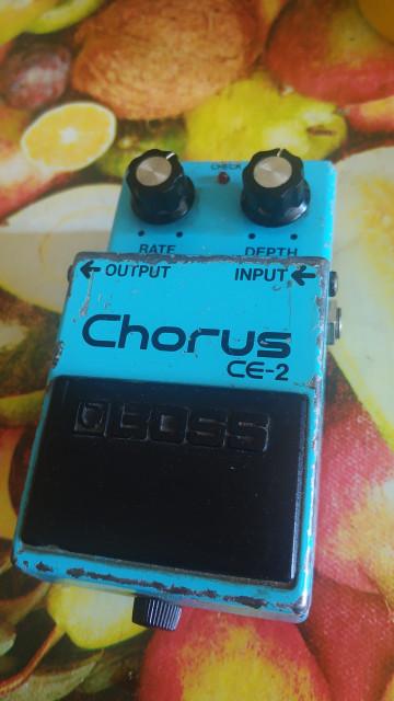 BOSS Chorus CE-2 1983