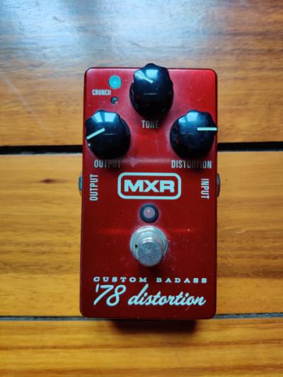 MXR 78 custom badass distortion