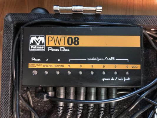 Palmer PWT 08 (Fuente de alimentación)