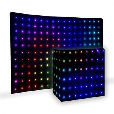 Pro Light DJ DRAPE LED Kit 2 pantallas LED