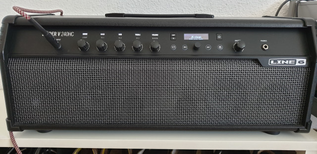 Amplificador Line6 Spider V 240HC MkII Head