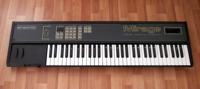 Ensoniq Mirage Teclado y Rack