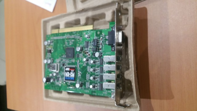 Motu PCI 424 y tarjetas Express Card