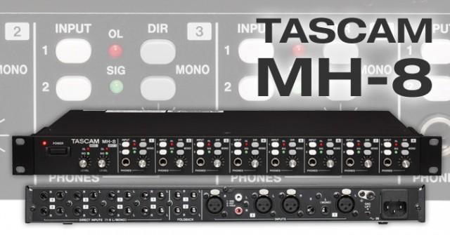 Vendo TEAC Tascam MH-8 NUEVO | Amplificador de Auriculares