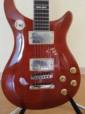 Guitarra eléctrica Sunsmile SCP 60 tipo PRS
