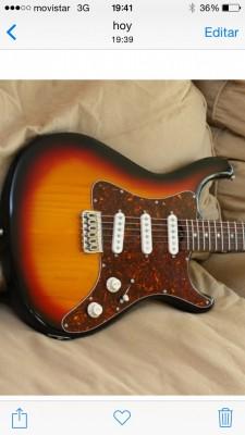 Stratocaster Gadow Monterrey  RESERVADA